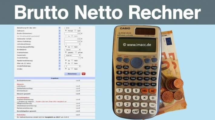 Brutto Netto Rechner 2021   Nettolohnrechner, 6 Tipps zu ...