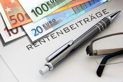 Bild von Rentenversicherungsbeitrag, Rentenversicherung Beitragssatz, Gesetzliche Rentenversicherung Beitrag Beiträge