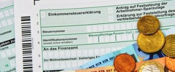 Mantelbogen zur Steuererklärung ESt 1A – Hauptvordruck