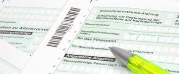 Vereinfachte Steuererklärung ESt1V: Steuererklärung einfach & schnell!