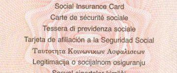 Sozialversicherungsausweis beantragen