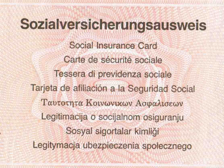 Alter SV Ausweis_Seite1