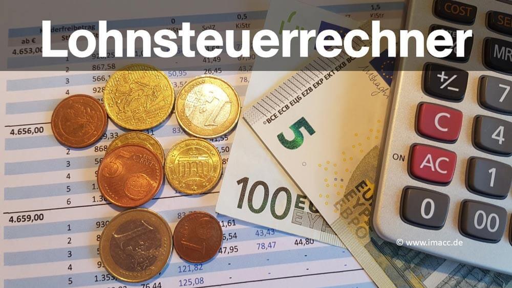 Lohnsteuer Berechnen 2016 : lohnsteuerrechner 2018 lohnsteuer berechnen so geht es ~ Themetempest.com Abrechnung