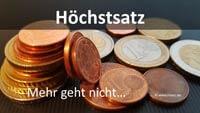 Berechnung Arbeitslosengeld Höchstsatz - Maximale Arbeitslosengeld Höhe wegen Beitragsbemessungsgrenze