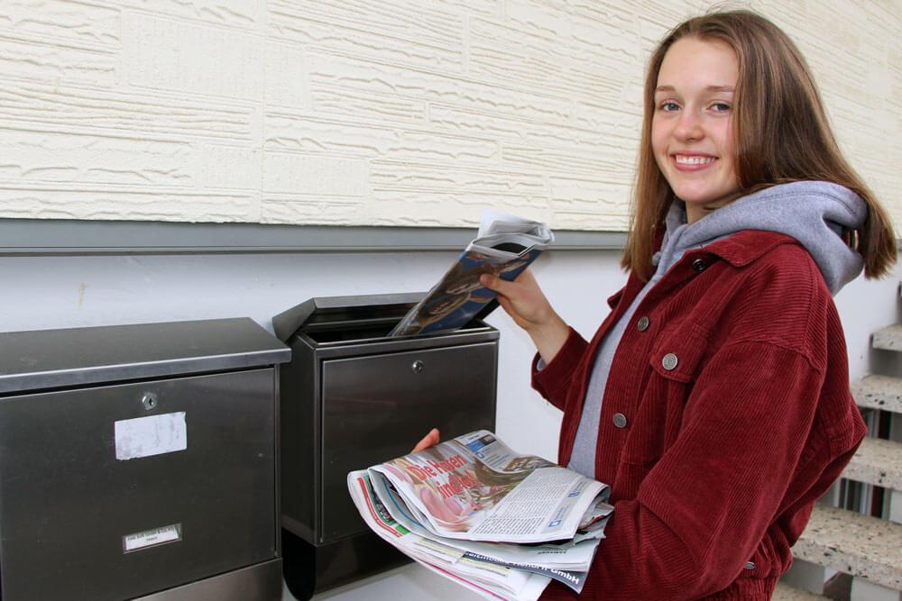 Zeitung austragen ist ein beliebter Schülerjob, Top Schülerjobs für Schüler ab 13