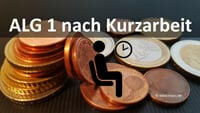 Bild von ALG 1 arbeitslosengeld nach kurzarbeit berechnen