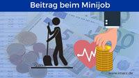 Bild von Krankenversicherung Beitrag beim Minijob