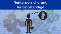 Bild von Rentenversicherung-Pflichtbeitrag für Selbständige