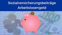 Bild von Sozialversicherungsbeiträge Arbeitslosengeld