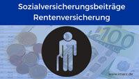 Bild von Sozialversicherungsbeiträge Rentenversicherung