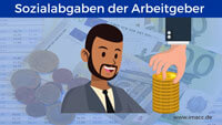 Bild von Wieviel Sozialabgaben muss der Arbeitgeber zahlen?
