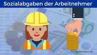 Bild von Wieviel Sozialabgaben zahlt der Arbeitnehmer