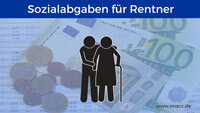 Bild von Sozialabgaben für Rentner, Sozialversicherungsbeiträge berechnen