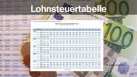 Berechnung Lohnsteuer nach Tagestabelle, Lohnsteuertabelle